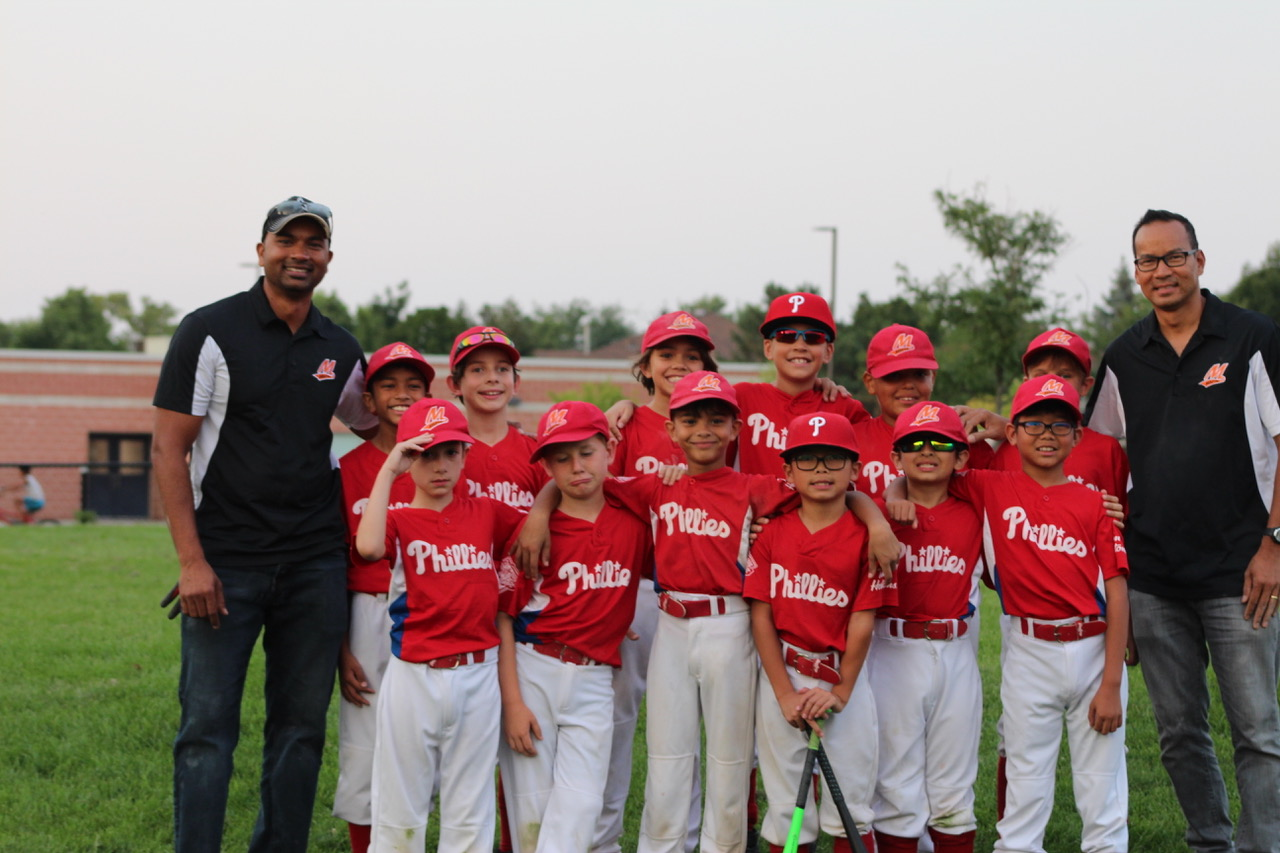 2018 Minor Mosquito Champions Phillies