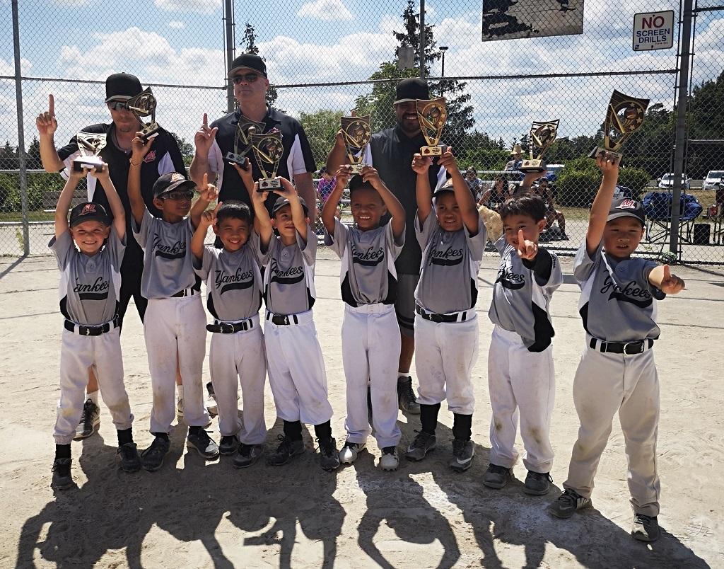 2019 Junior Rookie Champions Yankees