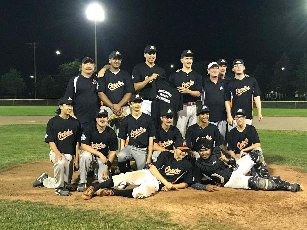 2019 Midget Champions Orioles